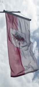 Fahne von Hütte